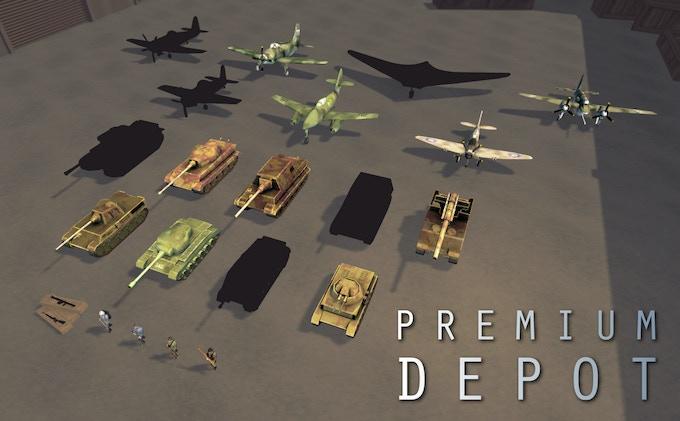 Units in the Premium Depot
