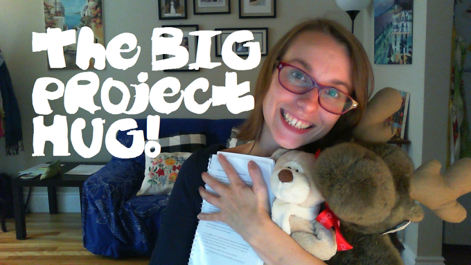 Be a sponsor of Big Dreams with the #BigProject Hug!