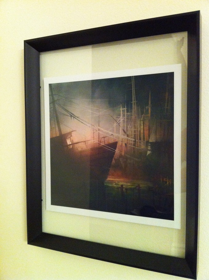 The Print in a frame (frame NOT included)