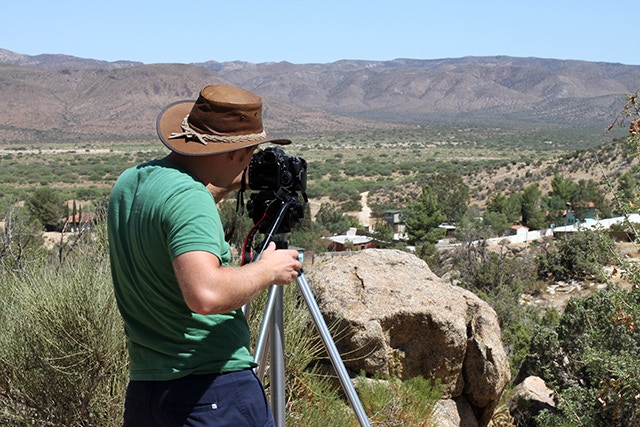 Filming at the Wall (in Southern California)