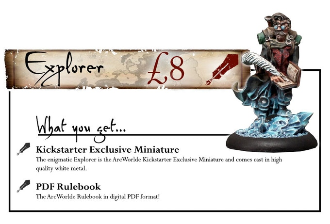 UK Shipping is included (add £1 to ship outside the UK) - Explorer studio paint job by Scott Hockley