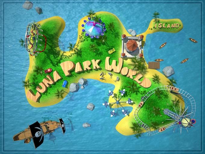 Mr. FunFairs island