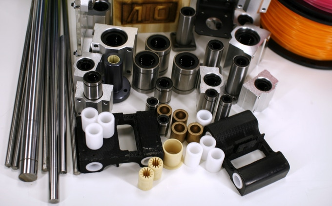 Overview of all tested linear components for ZEUS