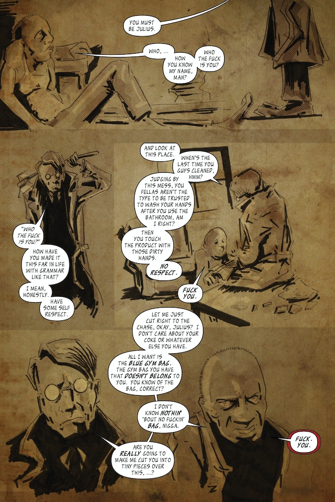 The Magician; page 5