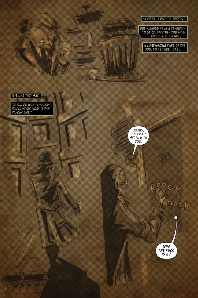 The Magician; page 2