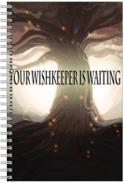 Notebook - a place to store your wishes!