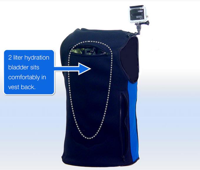 2 Liter Hydration pack pocket