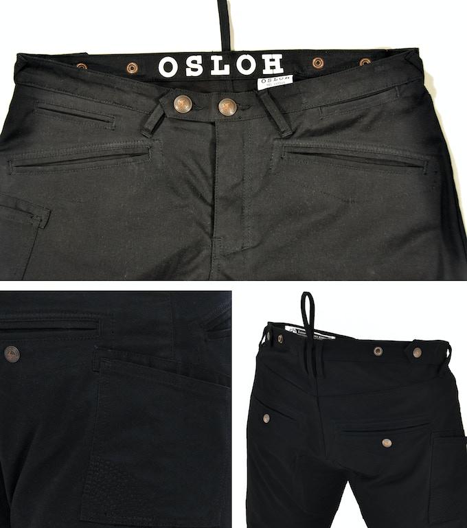 Black Lane Trouser Details