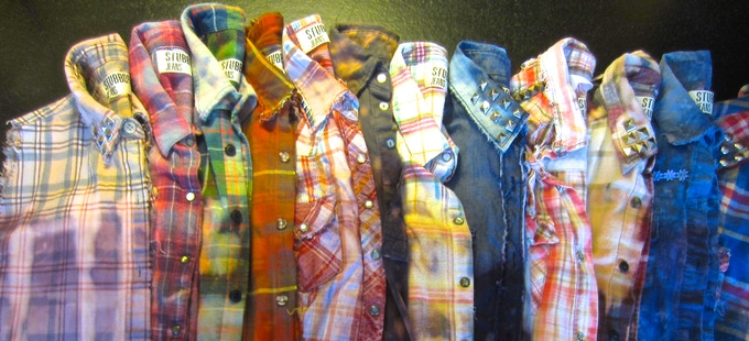 Super soft flannels for Stubborn Fall.