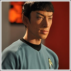 Todd Haberkorn as Mr. Spock