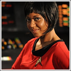 Kim Stinger as Lt. Uhura