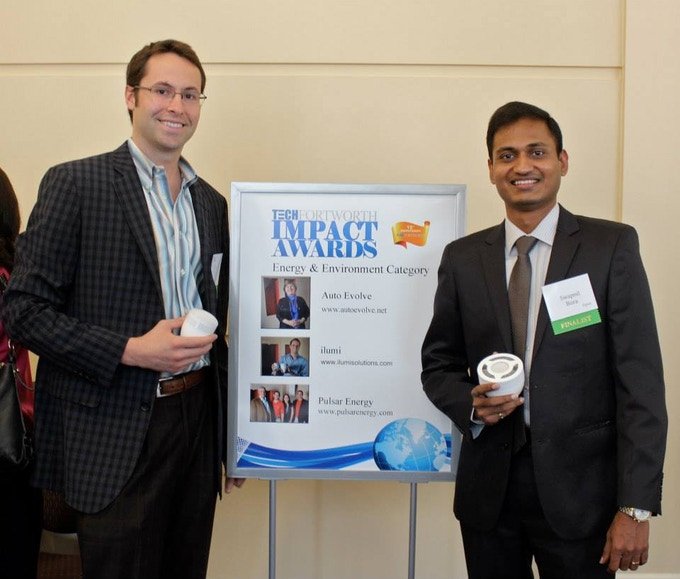 Corey & Swapnil at the Tech Fort Worth Impact Awards