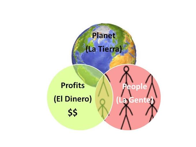 Three Rings of Sustainability.