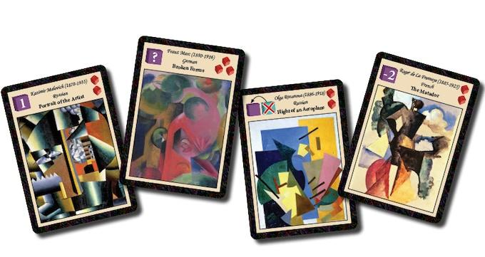 CUBIST Artist Cards