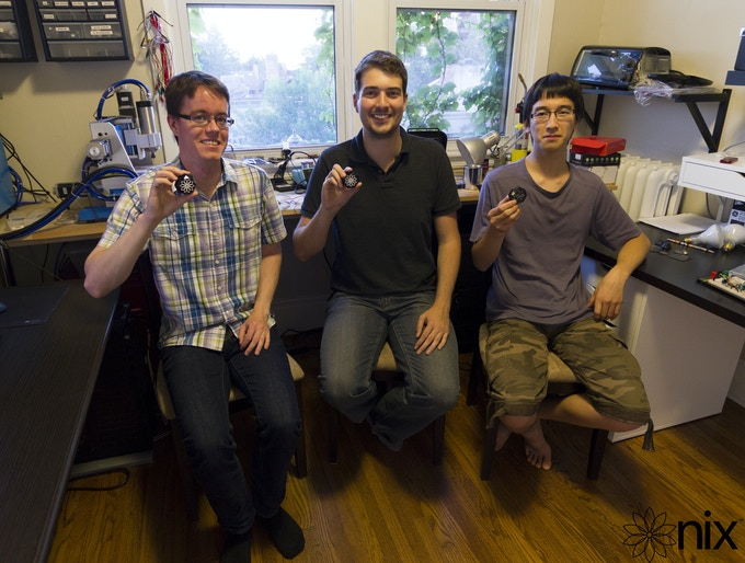 From left to right: James Strack, Matthew Sheridan, Andy Li