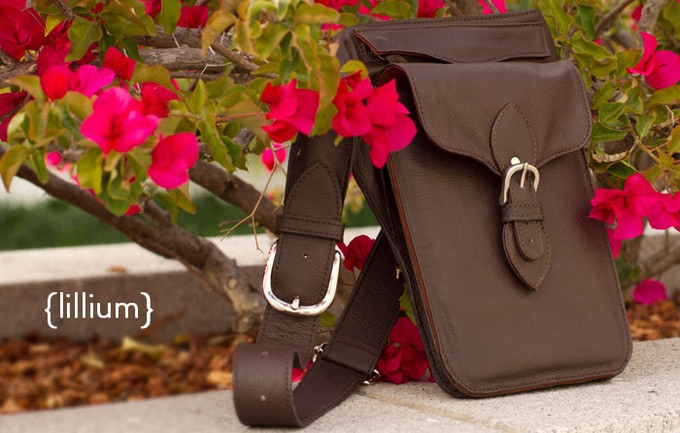 The Lillium from Intrepid Bag Co.