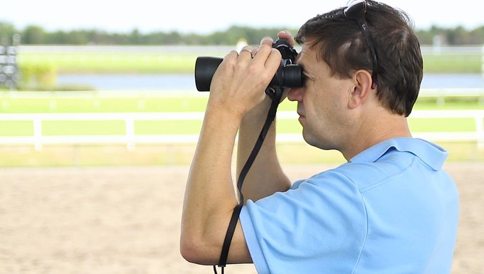 Graham Motion at Palm Meadows Thoroughbred Training Center
