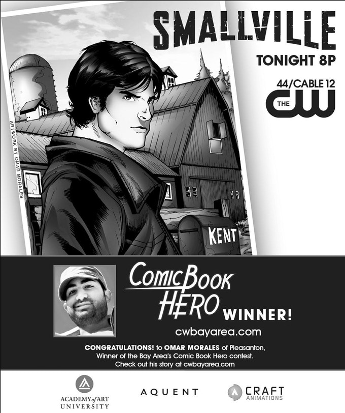 Here was the announcement of my winning CW submission from The San Francisco Chronicle. The TV ad is below: