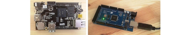 Prototype hardware, based on Ramps. Production will have its own PCB.