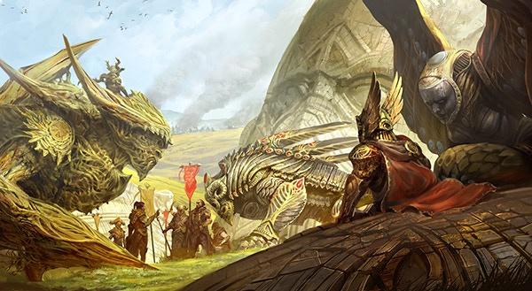 War Council, by Kekai Kotaki