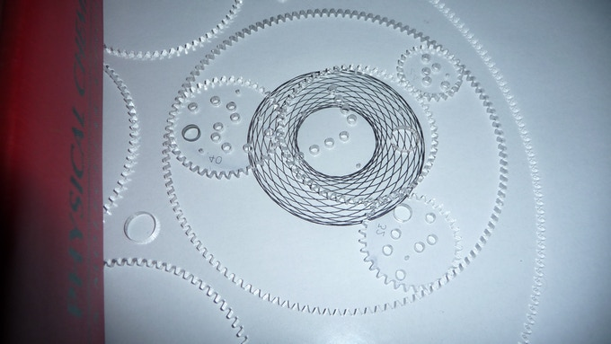 4 gears in 1 ring = cool design