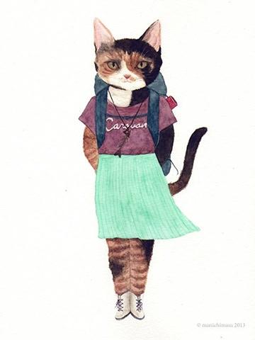Furcoats & Backpacks by Little Oze