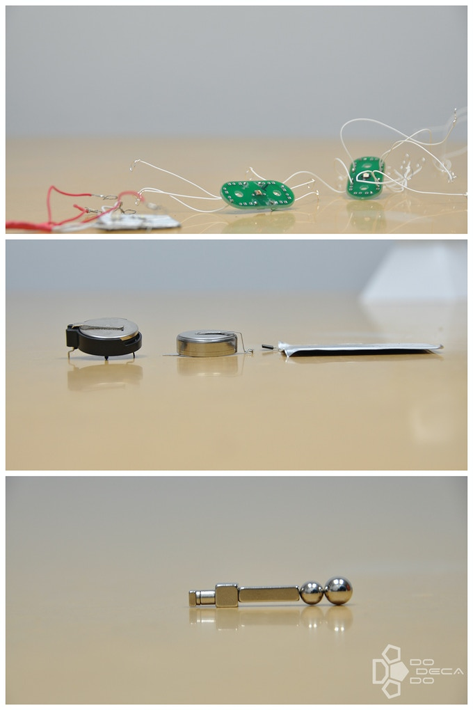 Experimenting with different circuitry, batteries, and magnets.