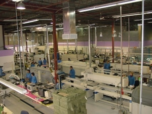 One of our contract manufacturers and electronic part assemblers in Montreal.