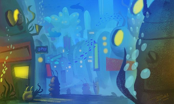 Underwater Metropolis - Street View