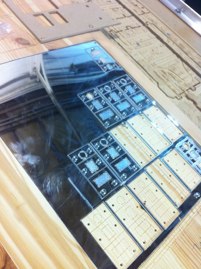Manufacturing our mirror assemblies on the CNC router