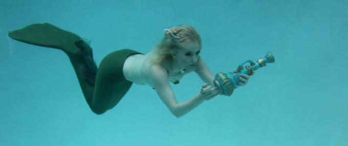 Erika Zabelle as our Mermaid