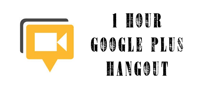 One hour google hang out with some cast and crew