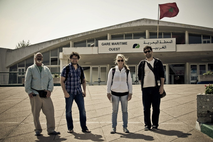 @photojack, @mkoerbel, @aejames and @filmicpro touch down in Morocco