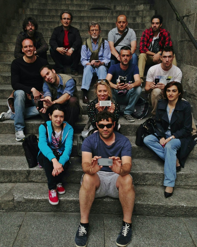 Group selfie with an exceedingly talented group of shooters at the EyeEm Madrid Photo/Video Masterclass!