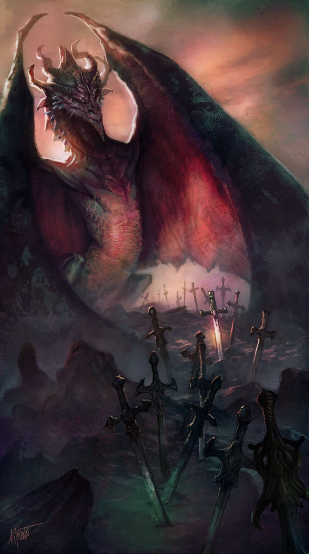 The Search for Dragons cover by Scott Altmann