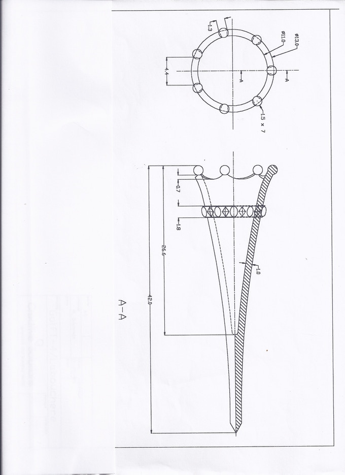 one of many technical drawings