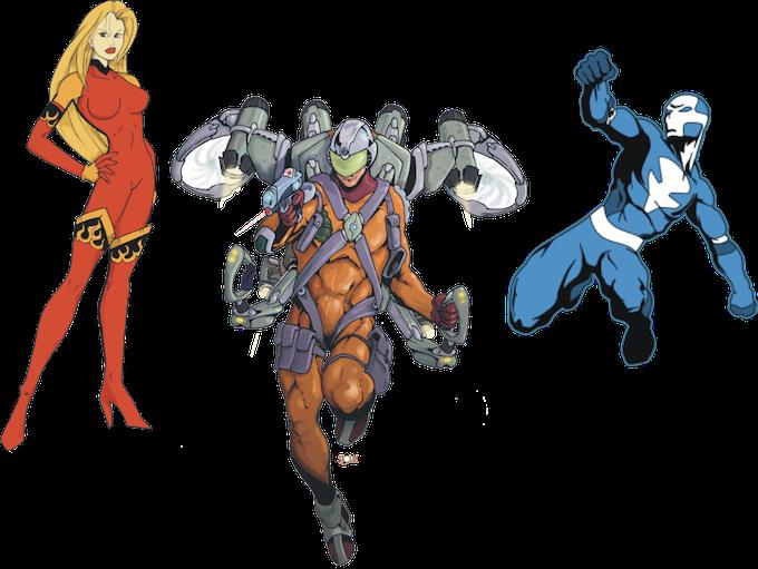 SUPERS! The Comic Book RPG (Revised) by Walt Robillard — Kickstarter