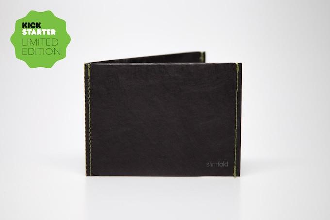 Black w/Kickstarter Green Stitching