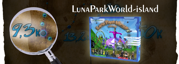 9,300£  : Luna Park World-island The Board Game