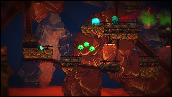 Chapter 5: Try to stay cool as you explore the molten depths of an active volcano (work in progress)