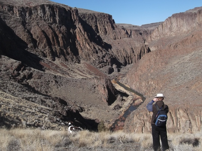 The Sheep Creek Wilderness Canyon is a little-known jewel in the Owyhee Canyonlands