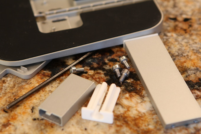 Other docks require several screws and complicated assembly