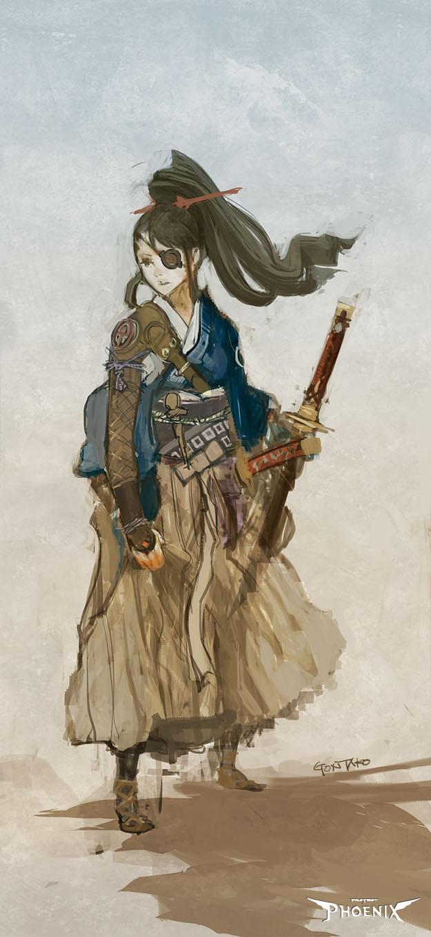 Satsuki Kagamizu, Samurai of Akitsu