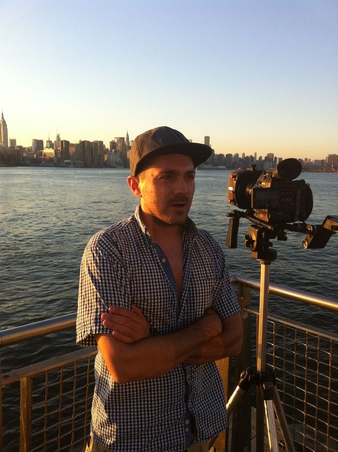Andrea Zucchini (director of photography and camera op.) - August 2013