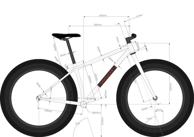 Medium frame geometry