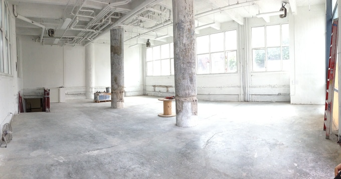 Ground floor, Makeshift Society Brooklyn