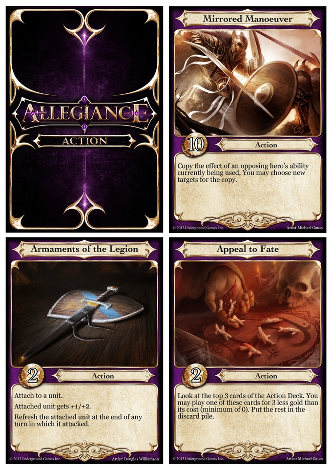 Mirrored Manoeuver, Armaments of the Legion, Appeal to Fate (Promo Add-on)