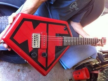 MF guitar- One of a kind, custom made Power Perk