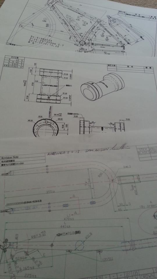 Prototype drawings signed off