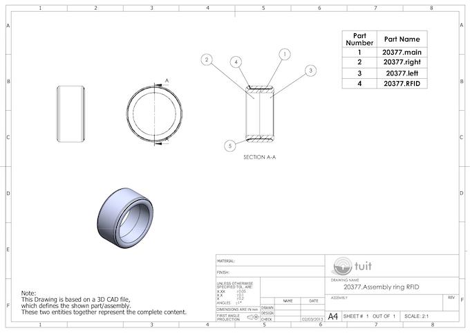 Tuit Detailed Design schematics